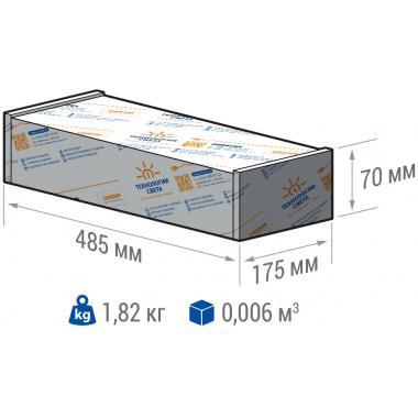 ПРОМЫШЛЕННЫЙ СВЕТИЛЬНИК TL-PROM-50-5K (Д) БАП 2,4